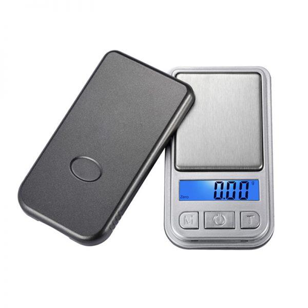 Mini cantar pentru bijuterii, LCD, 200 g, precizie 0.1 g-0