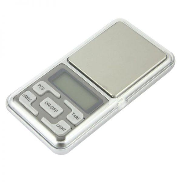 Cantar pentru bijuterii MH-200, 200 g, precizie 0.01 g-0