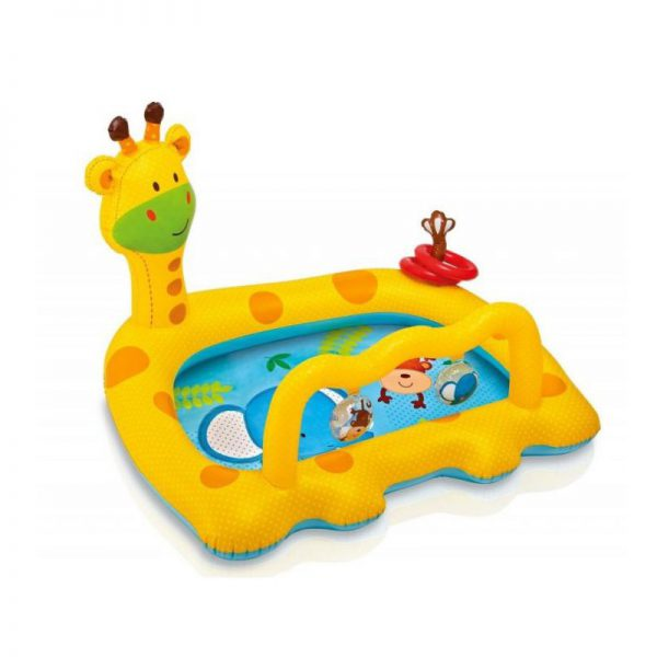 Piscina gonflabila Intex Baby Pool 57105NP, 112 x 91 x 72 cm-0