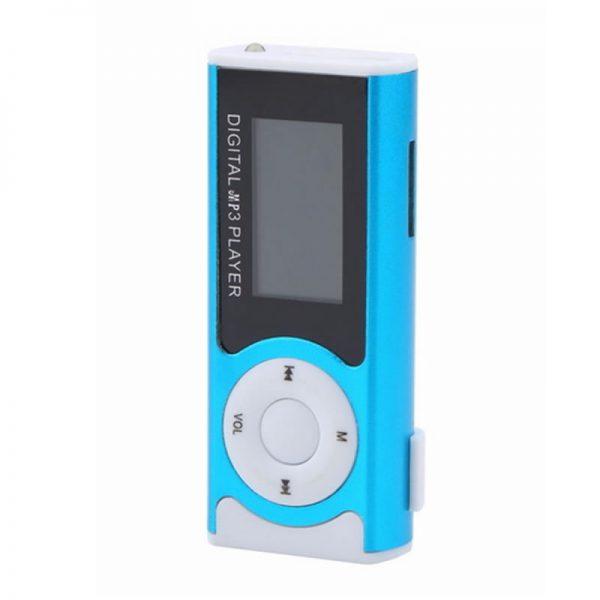 Mini MP3 Player cu radio, display LCD, lanterna-0