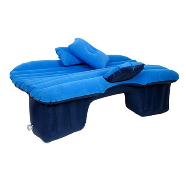 Saltea auto gonflabila Travel Bed Albastru