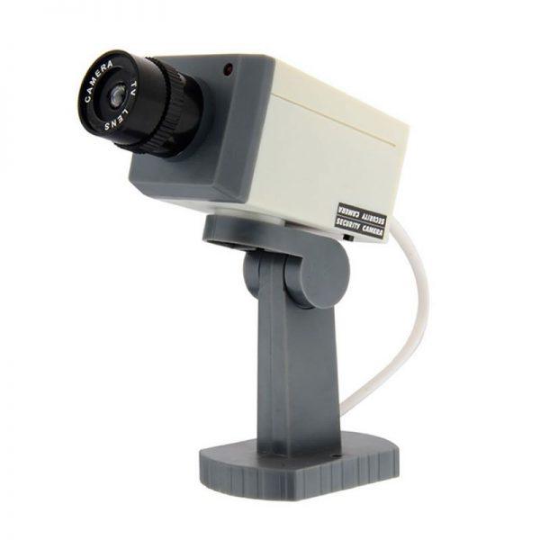 Camera de supraveghere falsa cu senzor de miscare si LED-0