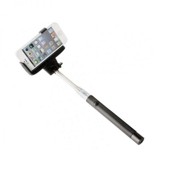 Suport telescopic pentru selfie, bluetooth, 110 cm-0