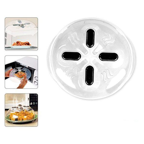 Capac magnetic pentru cuptorul cu microunde Magnetic Microwave Splatter Guard-0