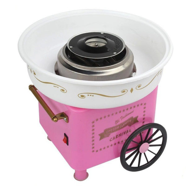 Aparat de facut vata pe bat Candy Maker Pink-0